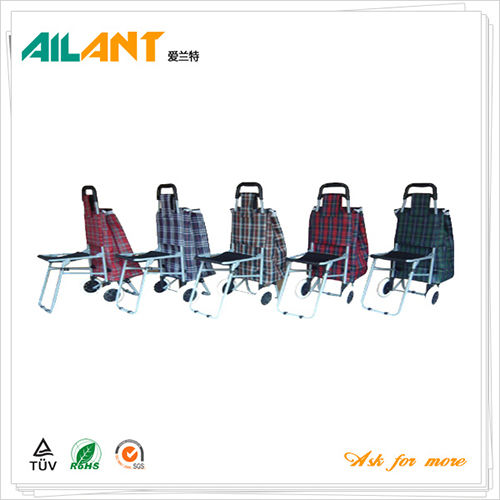 Shopping trolley,ELD-E102-With Chair (3)