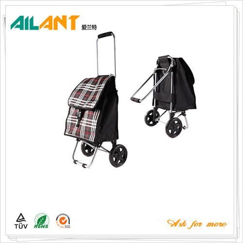 Shopping trolley,ELD-D103-1-With Foldable (5)