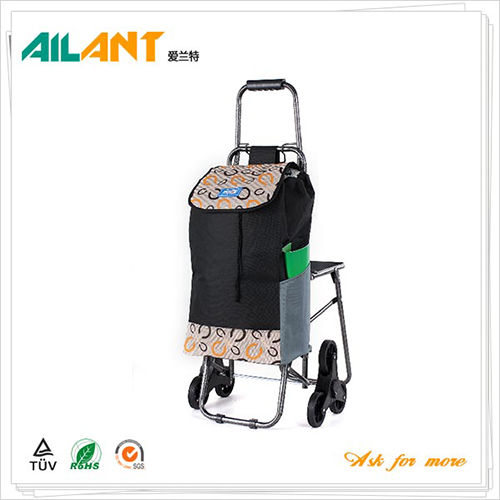 Shopping trolley,ELD-E104-With Chair (8)