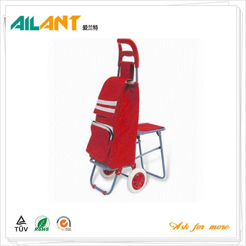 Shopping trolley,ELD-E106-With Chair (2)