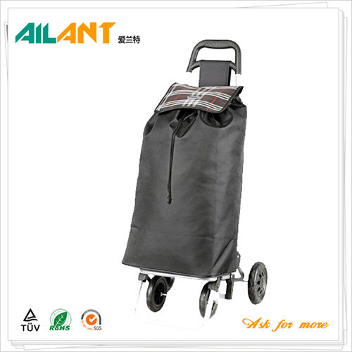 Shopping trolley,ELD-F102-2-With Four Wheel (3)