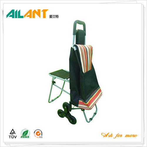 Shopping trolley,ELD-E103-With Multifunctional (2)