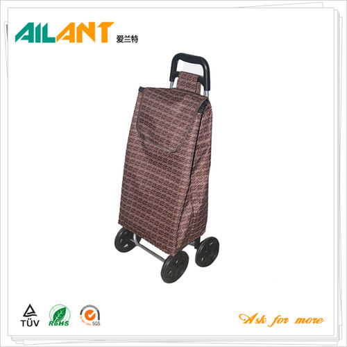 Shopping trolley,ELD-F102-1-With Four Wheel (2)