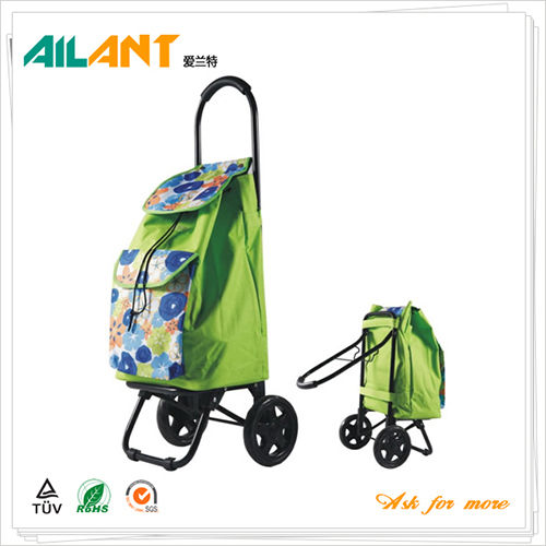 Shopping trolley,ELD-X102-With Foldable (7)