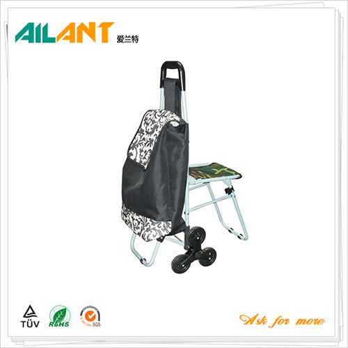 Shopping trolley,ELD-E103-With Multifunctional (3)