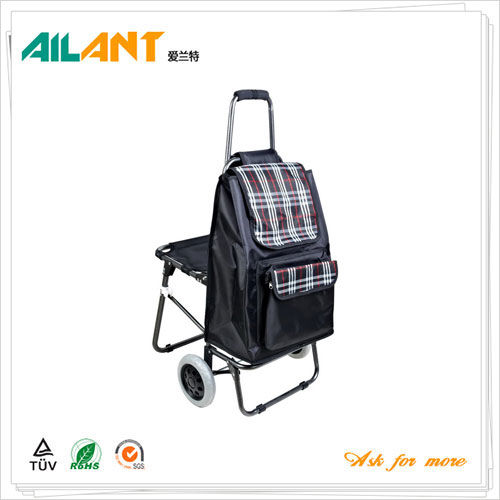Shopping trolley,ELD-E101-With Chair (7)