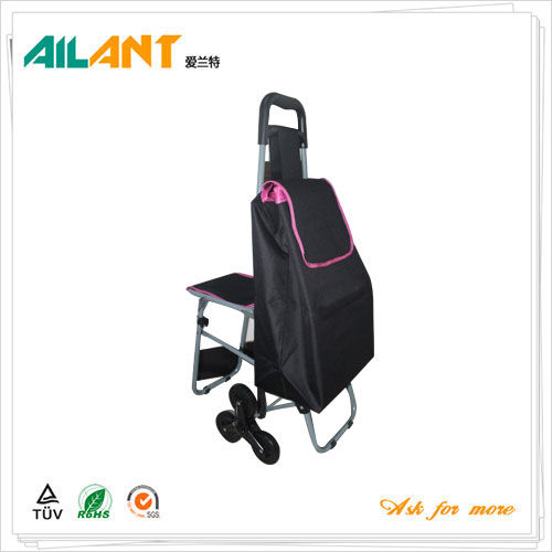 Shopping trolley,ELD-E103-With Chair (4)
