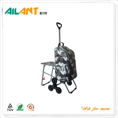 Shopping trolley,ELD-E108-With Multifunctional (4)