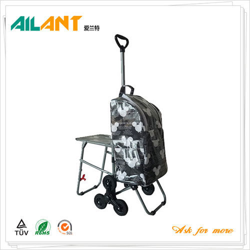 Shopping trolley,ELD-E104-With Cooler (9)