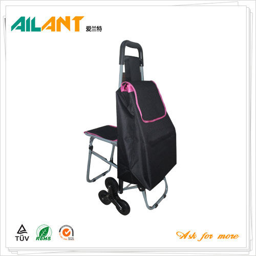 Shopping trolley,ELD-E103-With Multifunctional (6)