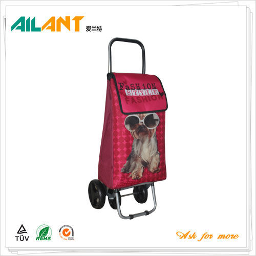 Shopping trolley,ELD-F101-With Four Wheel (1)