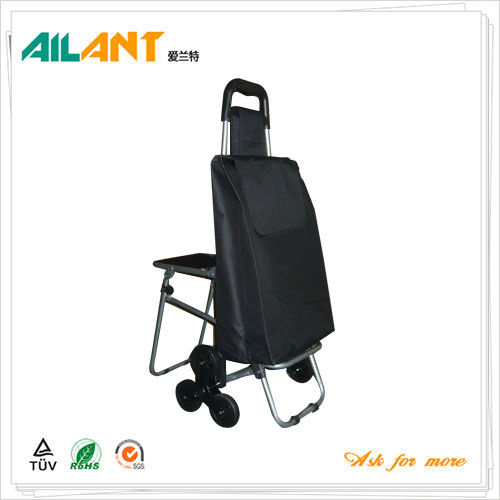 Shopping trolley,ELD-E103-With Chair (5)