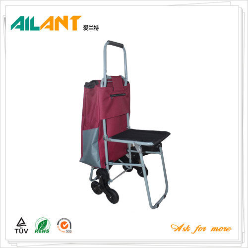 Shopping trolley,ELD-E104-With Multifunctional (7)