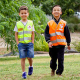 Wear reflective clothing children travel more at ease