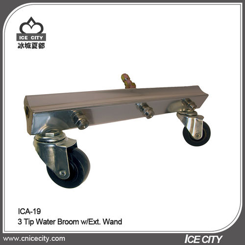 3 Tip Water Broom w/Ext. Wand-ICA-19