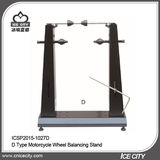 D Type Motorcycle Wheel Balancing Stand -ICSP2015-1027D