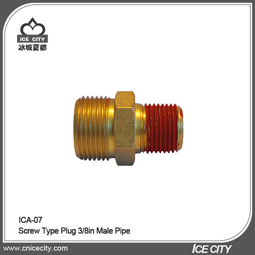 Screw Type Plug 3/8in Male Pipe-ICA-07