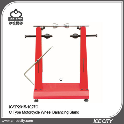 C Type Motorcycle Wheel Balancing Stand-ICSP2015-1027C