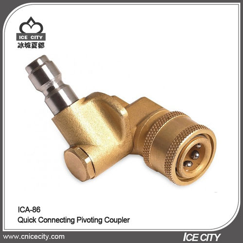 Quick Connecting Pivoting Coupler-ICA-86