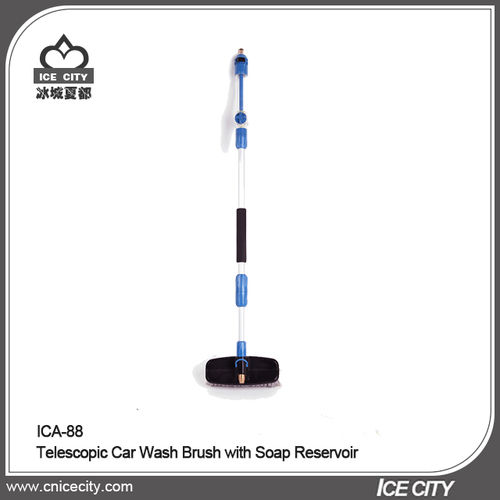 Telescopic Car WashBrush with Soap Reservoir-ICA-88