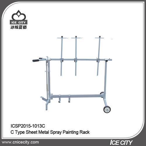 C Type Sheet Metal Spray Painting Rack-ICSP2015-1013C