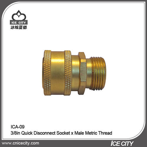 3/8in Quick Disconnect Socket x Male Metric Thread-ICA-09