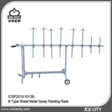 B Type Sheet Metal Spray Painting Rack -ICSP2015-1013B