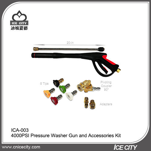 4000psi Pressure Washer Gun and Accessories Set-ICA-003
