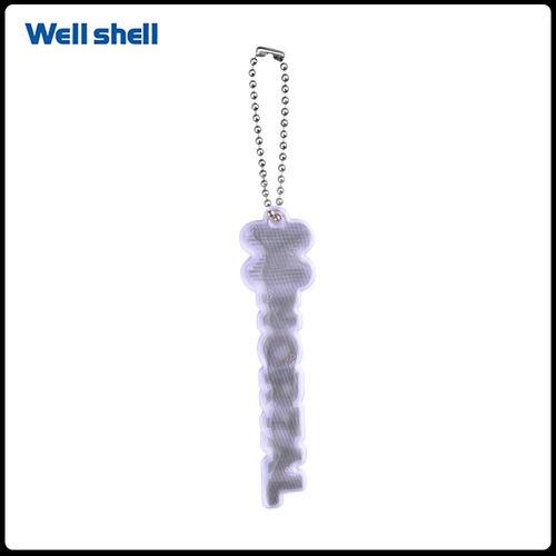 reflective keychain-WL-142