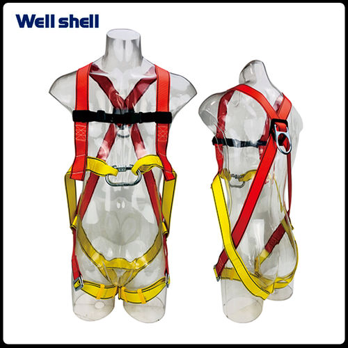 D-Ring full body safety Harness-WL-6124