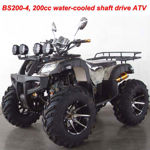 200cc water-cooled shaft drive ATV-BS200-4(Manual)