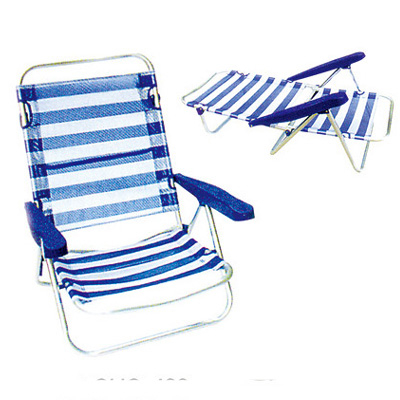 Aluminum chair. Compiled wicker chair-CHO-123