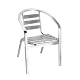 Aluminum chair. Compiled wicker chair -CHO-124-5