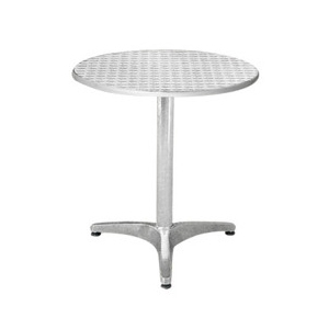 Aluminum chair. Compiled wicker chair-CHO-127-1