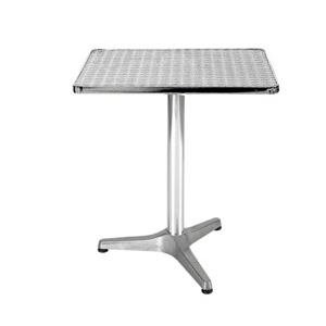 Aluminum chair. Compiled wicker chair-CHO-127
