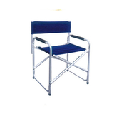 Aluminum chair. Compiled wicker chair -CHO-123d