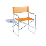 Aluminum chair. Compiled wicker chair -CHO-123-B
