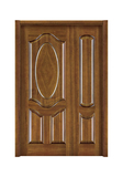Interior steel wooden door -FX-[608子母门]