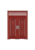 Steel wooden door -联盛对开(裂纹漆)