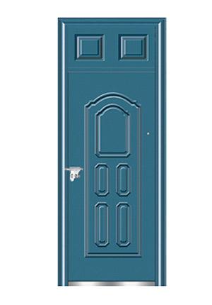 Steel wooden door-双幸福封闭气窗