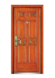 Interior wooden door -FXGM-A106花好月圆