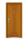 Interior wooden door -FXGM-C315合家欢乐