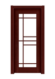 Interior steel wooden door -FX-T003