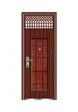 Steel wooden door -十五将军连体气窗