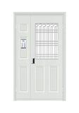 Steel wooden door -六欧子母楼字