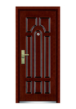Interior wooden door -FXGM-C310安居乐业