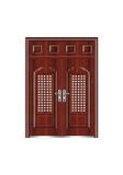 Steel wooden door -欢家门中门