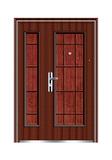 Steel wooden door -十五将军子母