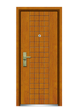 Interior wooden door -FXGM-C302年年有余