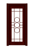 Interior steel wooden door -FX-T005